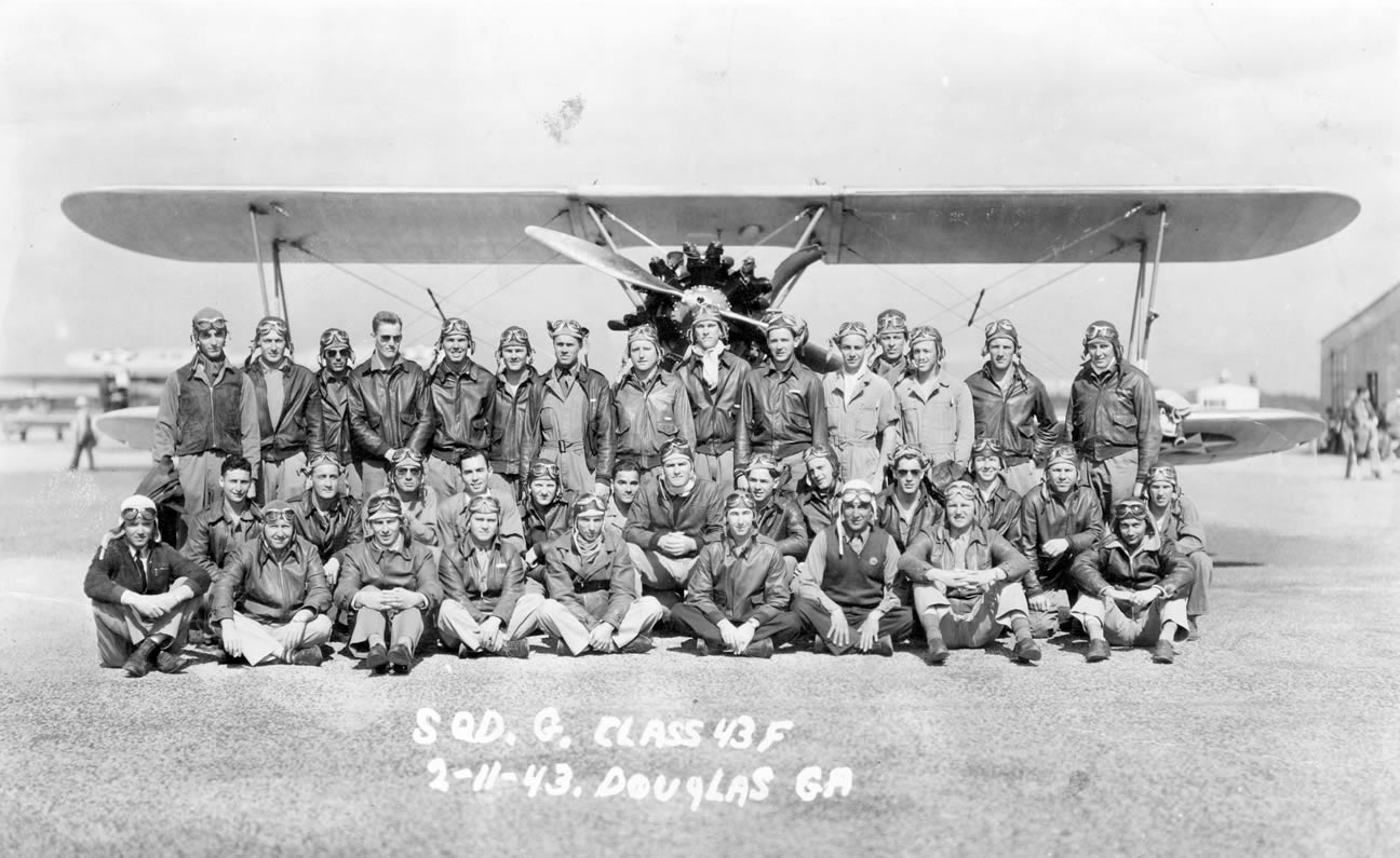 Squadron G of the Douglas class of 44-F