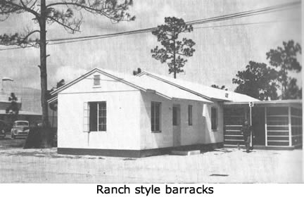 Ranch style barracks