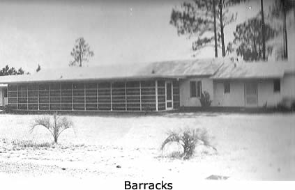 Barracks of the ranch style