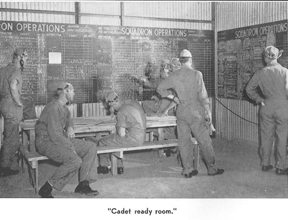 Cadet ready room