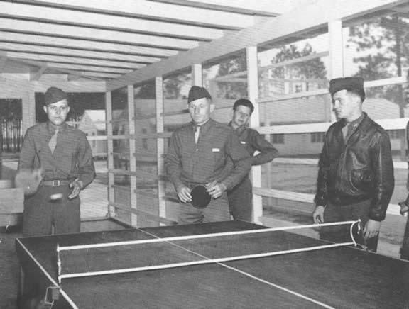 Ping Pong at Barracks