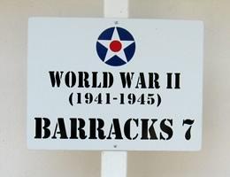 Walking Tour Sign at Museum