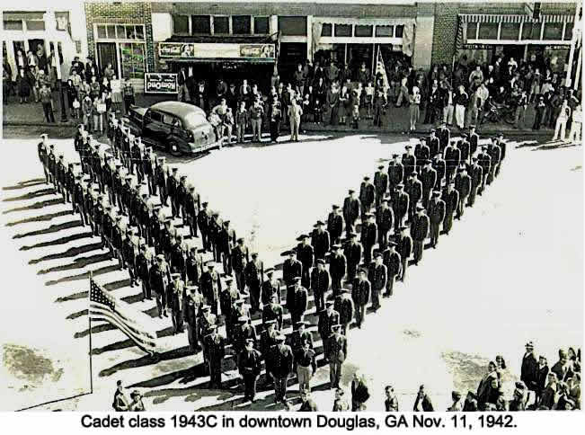 Cadets class of 1943C at Downtown Douglas